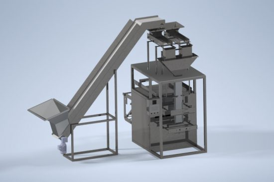 Vertical Packing Machine Double Scale